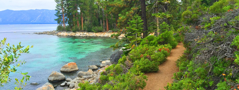 Hiking Trails: Rubicon Trail, South Lake Tahoe