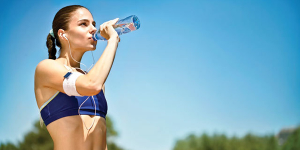 Remember to stay hydrated in summer.