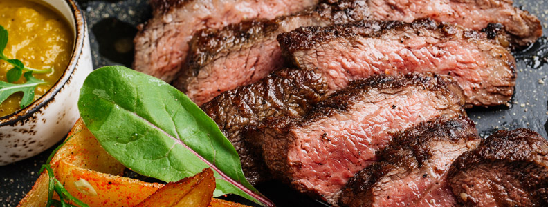 Grass-fed beef, a low fat alternative to conventional beef with loads of protein