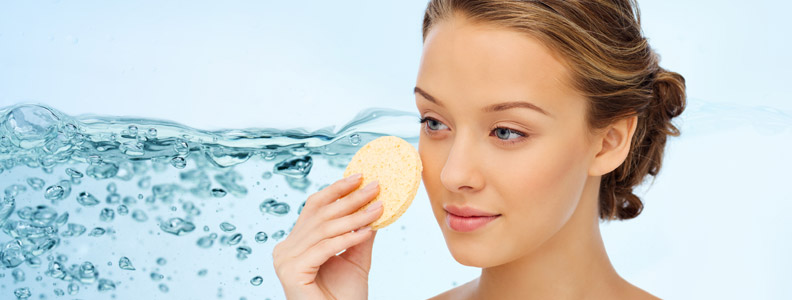 Exfoliate once a week to make skin look younger