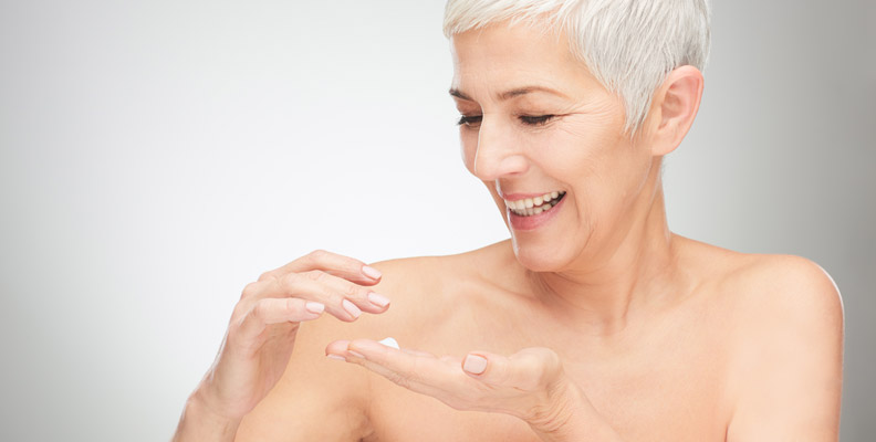 Getting old gracefully can be done with proper skin care.