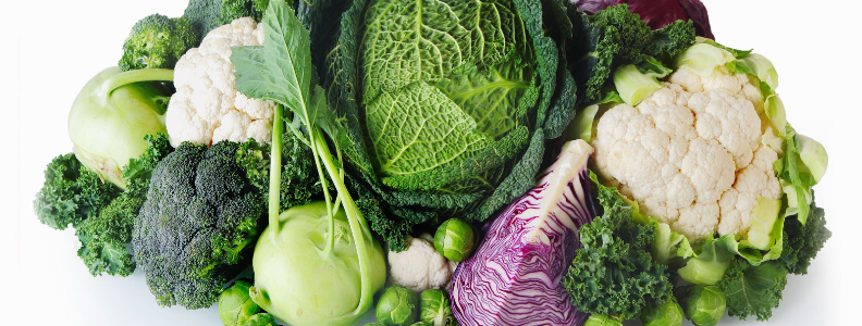 Broccoli, cabbage, cauliflower, kale, and many others are cruciferous vegetables.