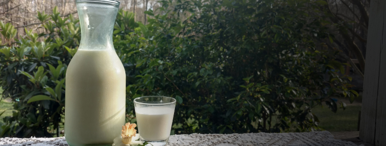Goat's milk, which produces less inflammation than cow's milk.